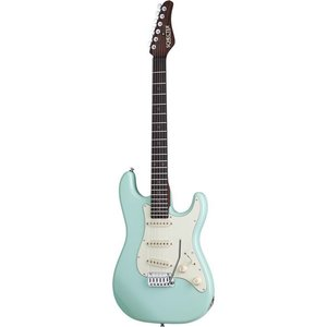 Schecter Nick Johnston Traditional Elektrische gitaar Atomic Green