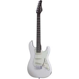Schecter Nick Johnston Traditional Elektrische gitaar Atomic Snow