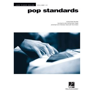 JAZZ PIANO SOLOS - POP STANDARDS