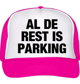 Al de rest is parking