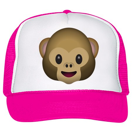 emoji monkey head