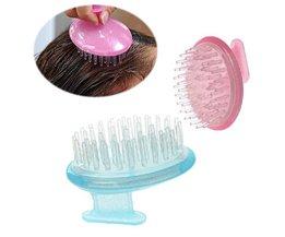 Masaje de la cabeza dispositivo para ducha