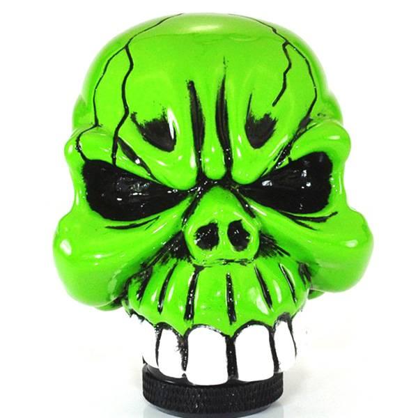 orden de Pomo de cambio en la forma de cráneo de cromo en línea? Me ...