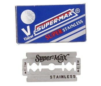 Supermax Super Stainless Double Blades Pakje 10 stuks