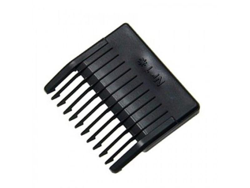Moser Opzetkam nr.1 (4,5mm) zwart plastic