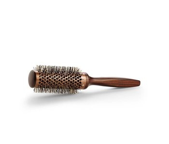 Bratt Bravehead Vintage Maple Hot Curling Brush 35mm