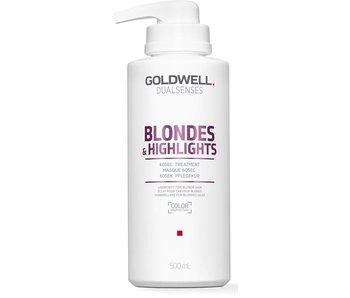 Goldwell Dualsenses Blondes en Highlights 60 Sec.Treatment 500ml