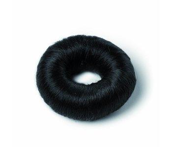 Bratt Knot met haar  zwart 9 cm