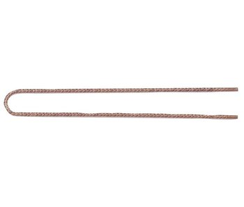 Sibel Japanse Postiche Haarspelden 50mm Brons - 40 stuks