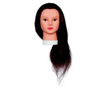 Sibel Best Buy Oefenhoofd Lady 60cm Human Hair + gratis Eco Statief