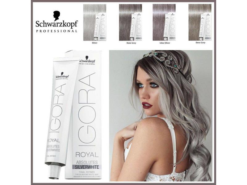 Schwarzkopf Igora Royal Absolutes Silver White 60ml