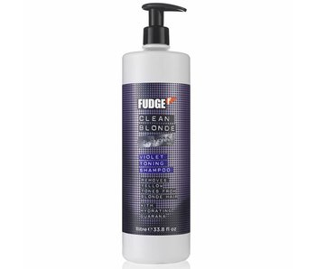 Fudge Clean Blond Violet Toning Shampoo 1000ml