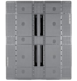 Industrial-Pallet 1200x1000x150 mm, 3 welded Runners