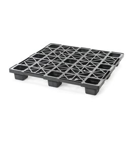 Nestable container pallet 1140x1140x140, open deck