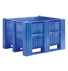 CB3 Pallet boxes • 1200x1000x740 • closed walls • 3 runners