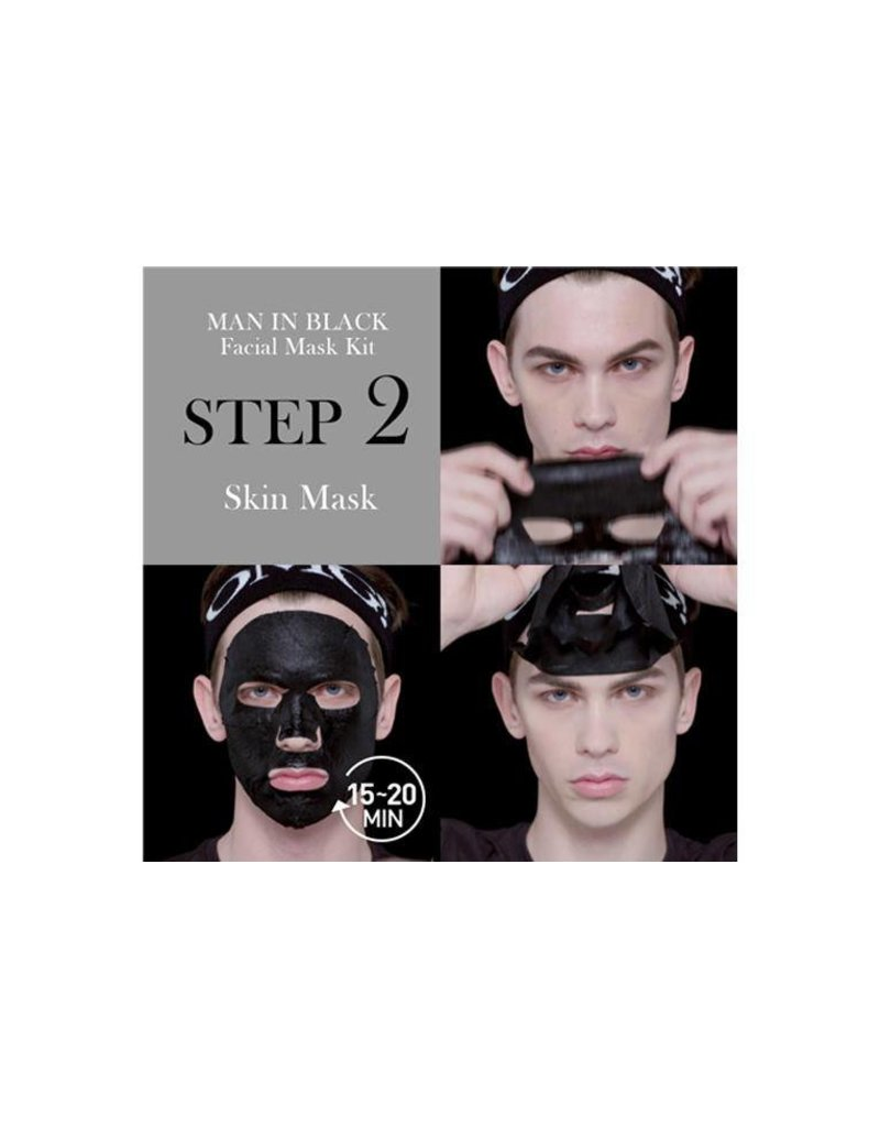 OMG! OMG! - Man In Black Facial Mask