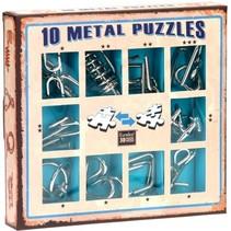 10 Metal Puzzles (blauw)