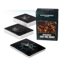 Warhammer 40,000 8th Edition Datacards Chaos: Heretic Astartes Chaos Space Marines