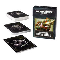 Warhammer 40,000 8th Edition Datacards Chaos: Heretic Astartes Death Guard
