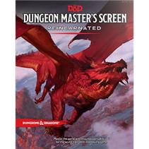 D&D 5.0 Reincarnated DM screen