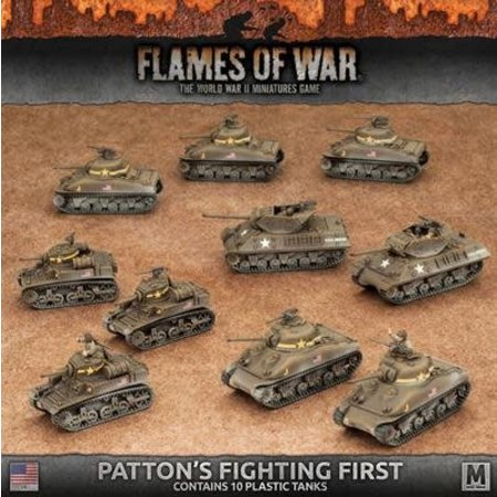 Battlefront FOW 4.0: Patton's Fighting First Starter Army