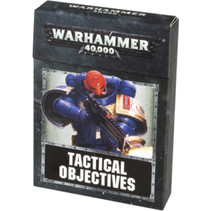 Warhammer 40,000 8th Edition Accessories: Tactical Objectives Cards