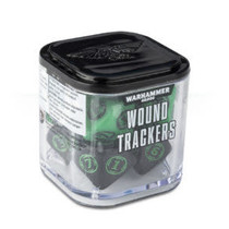 Warhammer 40,000 Dice: Wound Trackers - Green