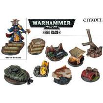 Warhammer 40,000 Bases: Hero Bases