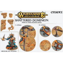 Shattered Dominion: 40mm & 65mm Round Bases