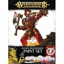 Age of Sigmar: Khorne Bloodbound Paint Set
