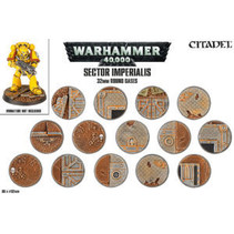 Sector Imperialis: 32mm Round Bases (60)