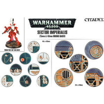 Sector Imperialis: 25mm & 40mm Round Bases (20&40)