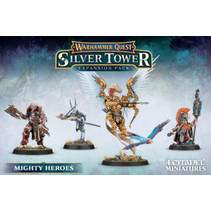 Warhammer Quest: Silver Tower Mighty Heroes Expansion Pack