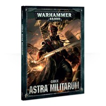 Warhammer 40,000 8th Edition Rulebook Imperium Codex: Astra Militarum (HC)