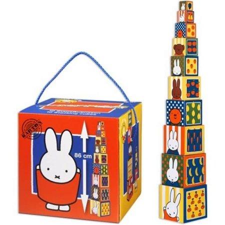 Bambolino Toys Nijntje Stapelblokken
