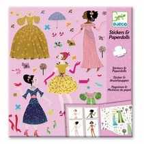 Stickers & Paperdolls: Dresses through the seasons
