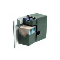 Ultimate Guard Flip'n'Tray Deck Case Xenoskin 100+ Green