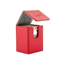 Ultimate Guard Flip Deck Case Xenoskin 80+ Red