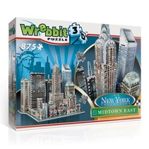 Wrebbit 3D puzzle - Midtown East (875)