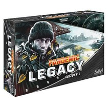 Pandemic: Legacy Seizoen 2 Black NL