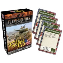 FOW 4.0: Desert Rats Command Cards