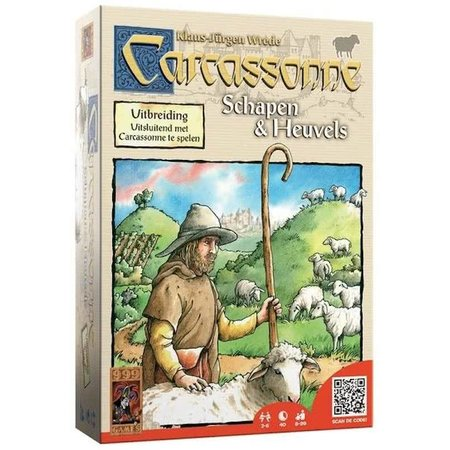999-Games Carcassonne: Schapen & Heuvels