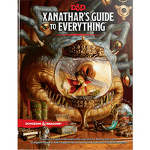 D&D 5.0: Xanathar's Guide to Everything