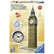 3D Puzzle: Big Ben met Klok