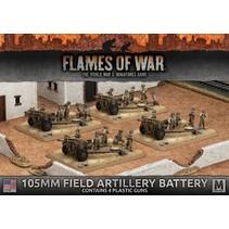 FOW 4.0: 105mm Field Artillery Battery