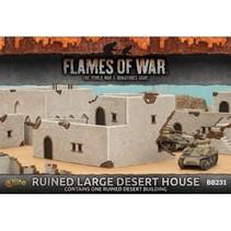 Ruined Large Desert House
