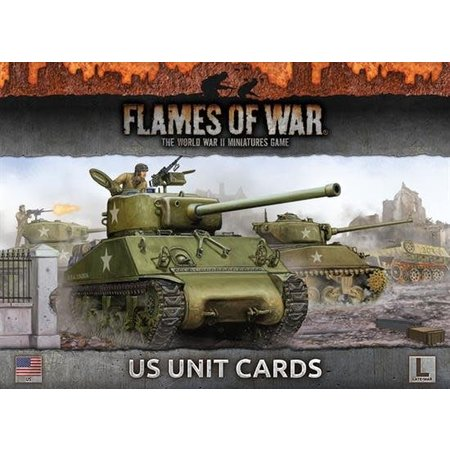 Battlefront Armies of Late War: US Unit Cards