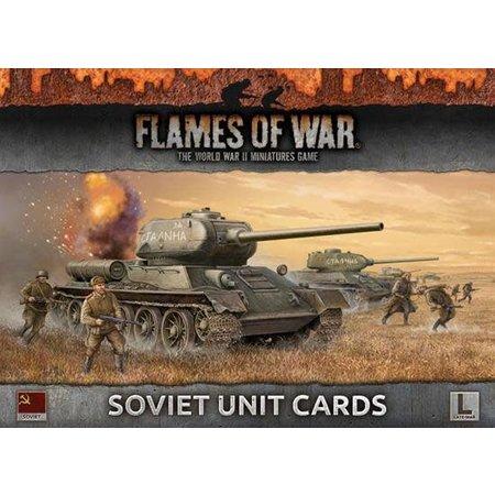 Battlefront Armies of Late War: Soviet Unit Cards