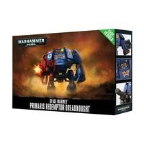 Warhammer 40,000 Imperium Adeptus Astartes Space Marines: Primaris Redemptor Dreadnought (Easy to Build)