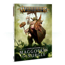 Age of Sigmar 2nd Edition Rulebook Chaos Battletome: Maggotkin of Nurgle (HC)